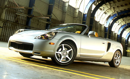 2000 Toyota MR2 Spyder Convertible. MR Excitement Returns To Toyota.